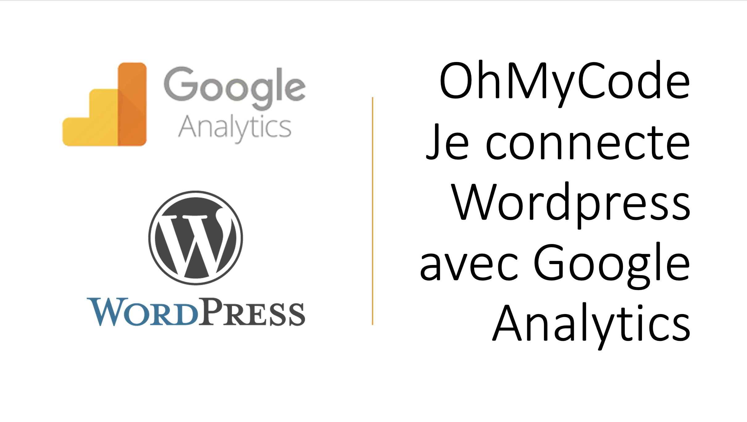 wordpress et google analytics